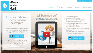 Das Portal eBookWaterMark