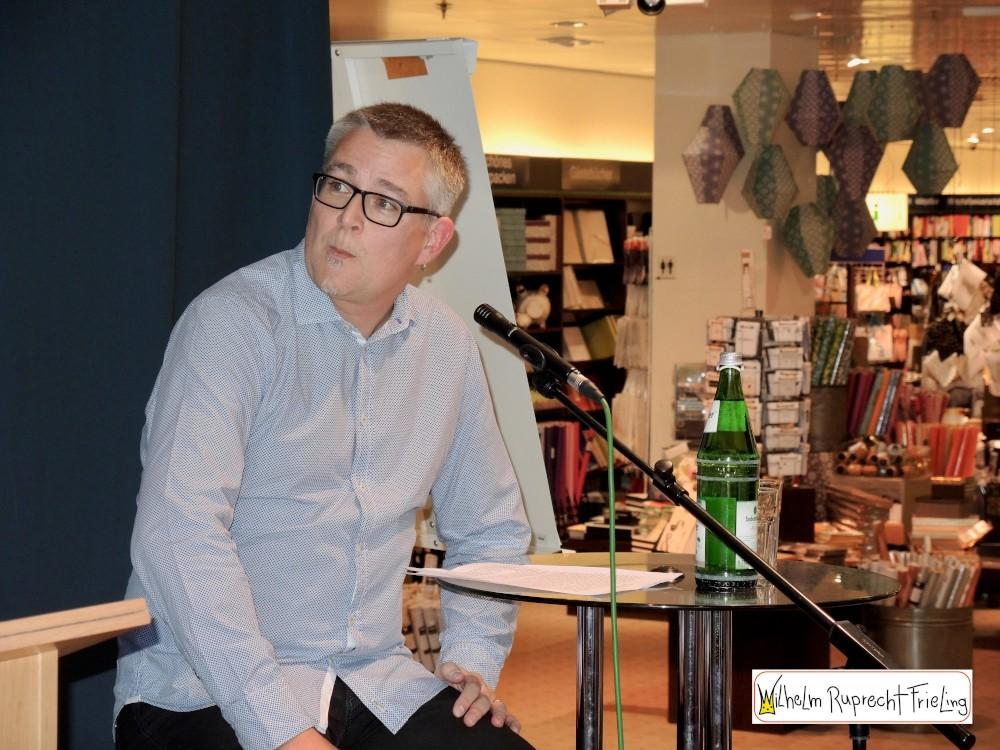 Mathias Blühdorn liest